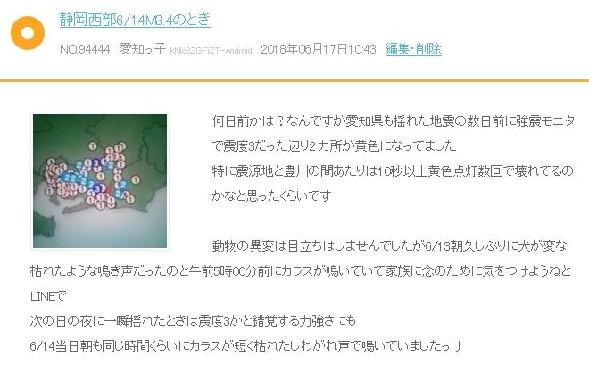 愛知強震モニター キャプチャ 6 14