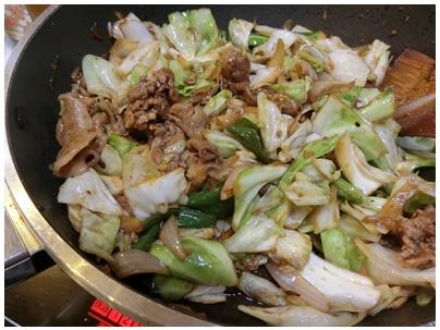 神鍋高原キャベツ8(回鍋肉1)