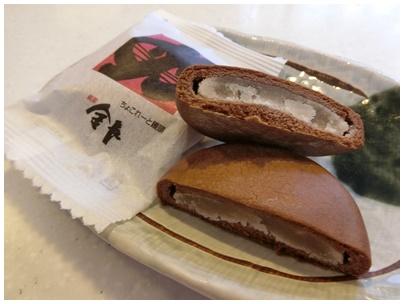 徳島チョコレート饅頭3