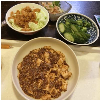 マーボー豆腐2