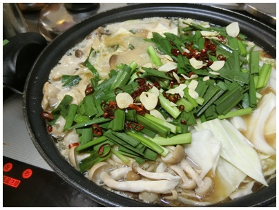 味噌もつ鍋1
