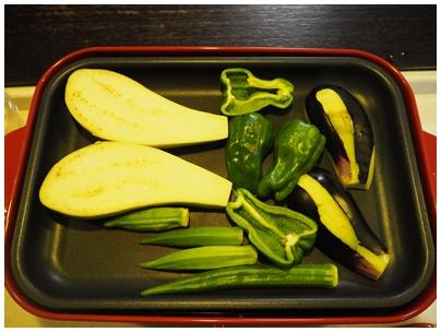 ケンタッキーフライドチキンと野菜焼き2