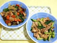 CAI_180709_5201 豚肉と茄子のポン酢炒め・胡瓜と豚肉の生姜炒め_VGA