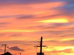 IMG_1780728_2009 台風前の鮮やかな夕焼け_VGA