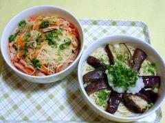 CAI_180730_5224 素麺チャンプルー・揚げ茄子と大根おろしの冷やし素麺_VGA