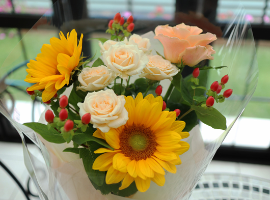 初夏の花束