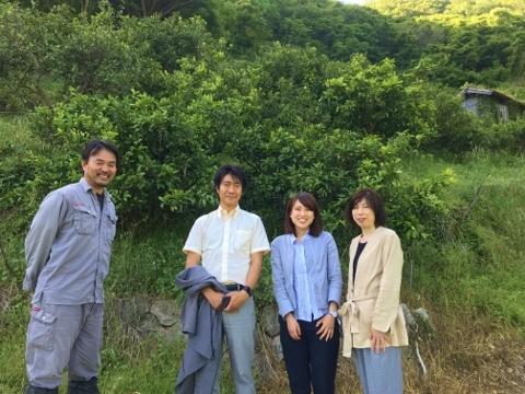 三菱電機ライフサービスの皆さんと記念撮影(その1)