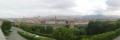 8 ミケランジェロ広場からフィレンツェの景色  パノラマ写真 大