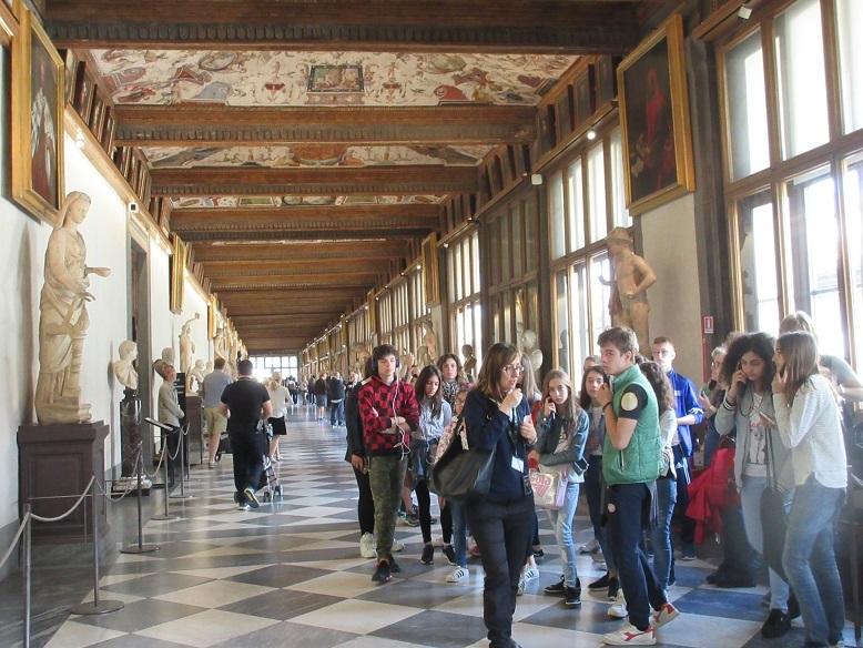 14 ウッフィッツィ美術館