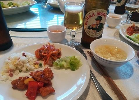 2 中華の昼食
