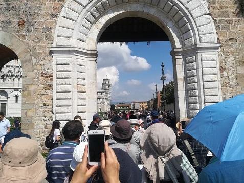 6 ピサへの入口