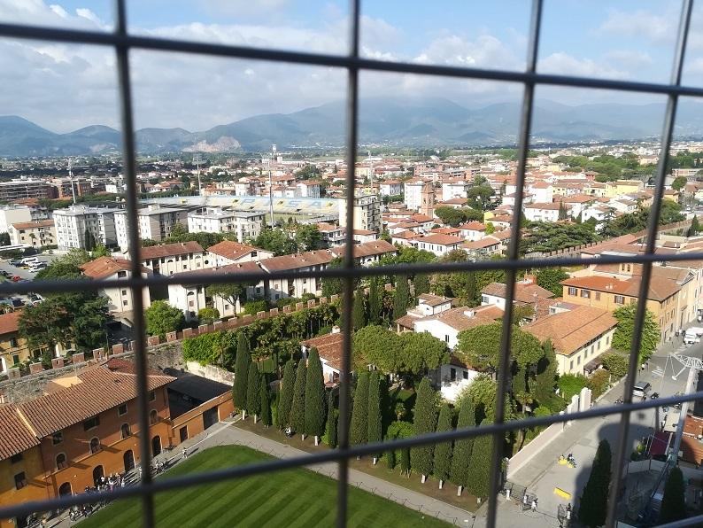 23 斜塔の頂上からの景色