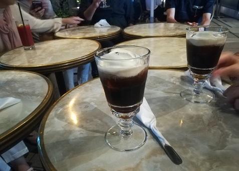 7 私はアイスアイリッシュカフェ