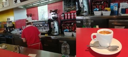 16 ドライブインのコーヒー