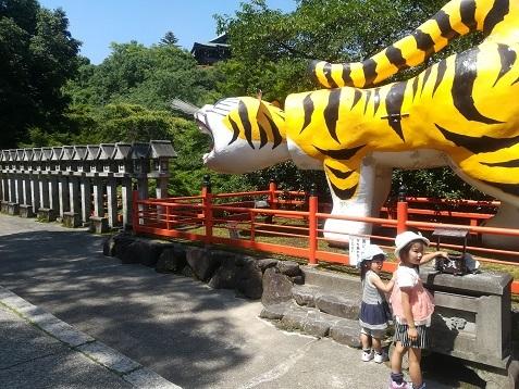 7 信貴山の虎