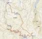 0 赤目四十八滝の散策コース 地図