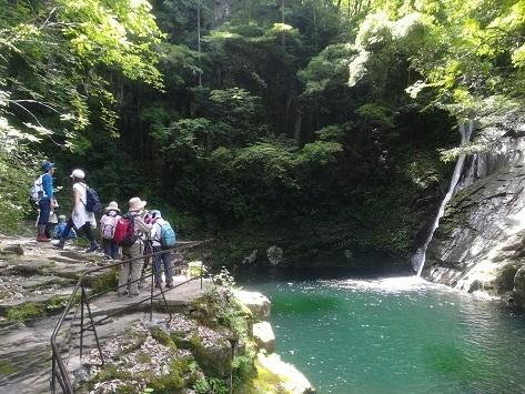 9 細く優美な布曳滝