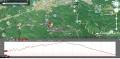 16 赤目四十八滝の散策コース グーグルマップ