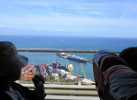 9 ティレニア海が見えた