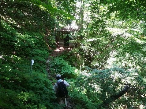 9 琵琶の滝へ到着