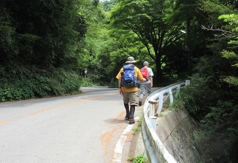 8 六甲高山植物園へ向かう