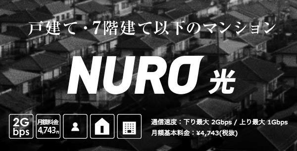 NURO光(ニューロ光)が一発でわかる総合まとめリスト