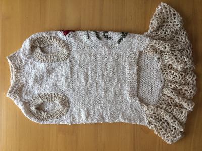 レイたんのサマーセーター編み直し2