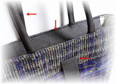 裂き織りトート25-6