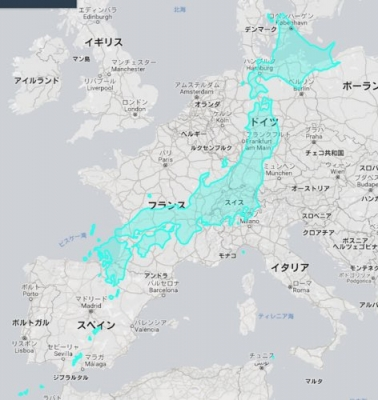 日本はデカかった