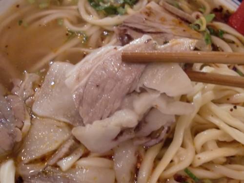 金味徳拉麺@六本木・20180413・具材