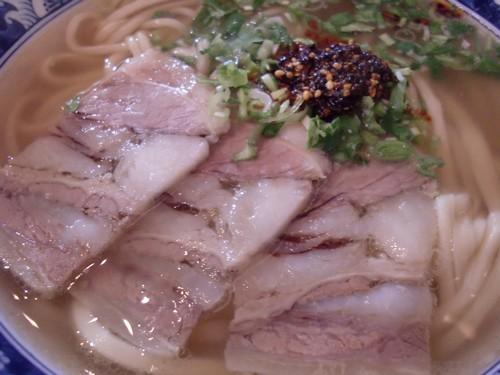 金味徳拉麺@六本木・20180413・具材2