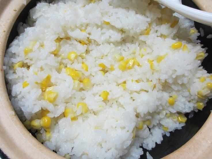 コーンご飯2
