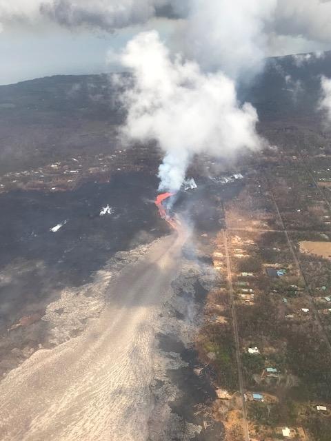 20180711 ハワイ 噴火状況3