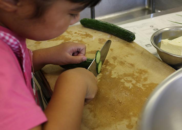 子どもも参加の料理 30 7 14