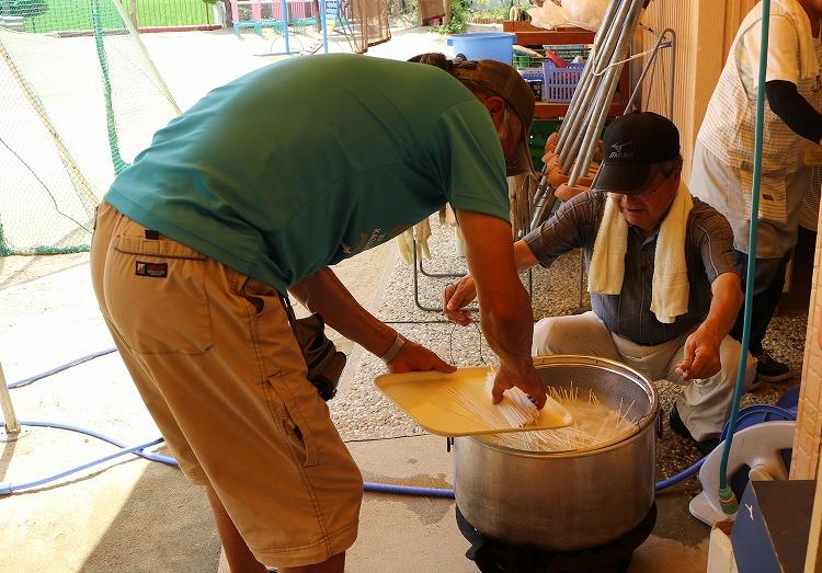半田素麺を使います 30 7 25