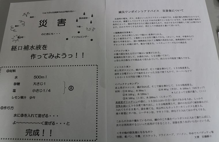 減災ワンポイント 講演 30 8 8