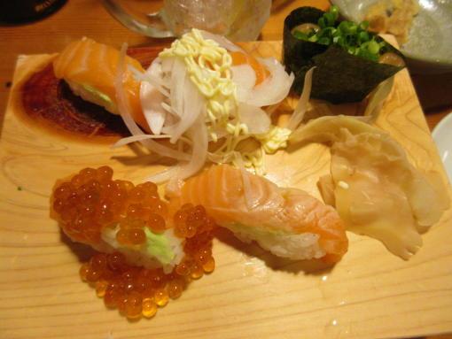030 〆の寿司(1)
