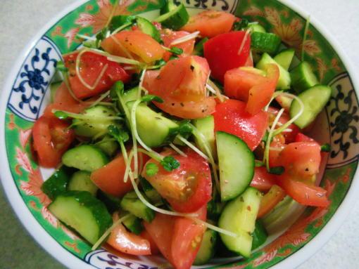 231 トマきゅうサラダ(1)