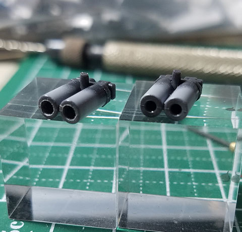 F91 マスキング塗装