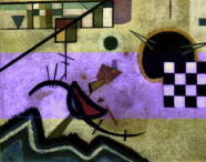 カンディンスキー 響き合い 1924 ポンピドー (2)