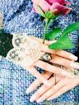 蝶の女王指輪レースUP