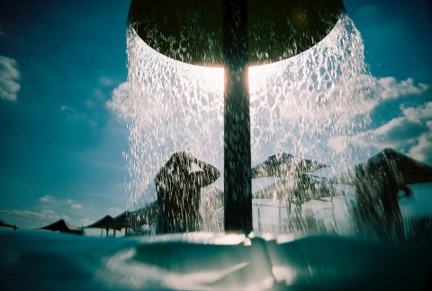 水遊び シャワー