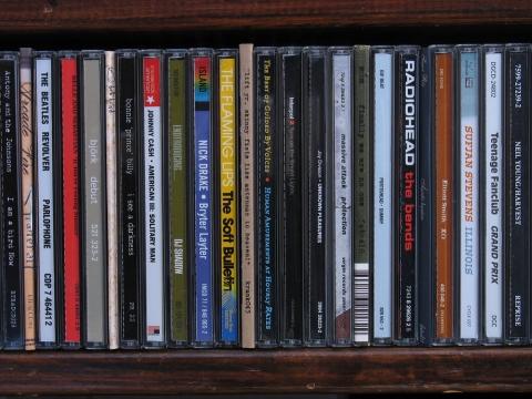 CD 音楽 棚