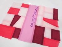 ピンク~赤 シルク チョガッポ