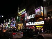 釜山 飲み屋街