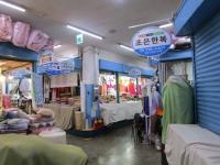 済州島 東門市場 ポジャギ生地のお店