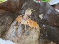 済州島 タダム 蓮の葉ご飯