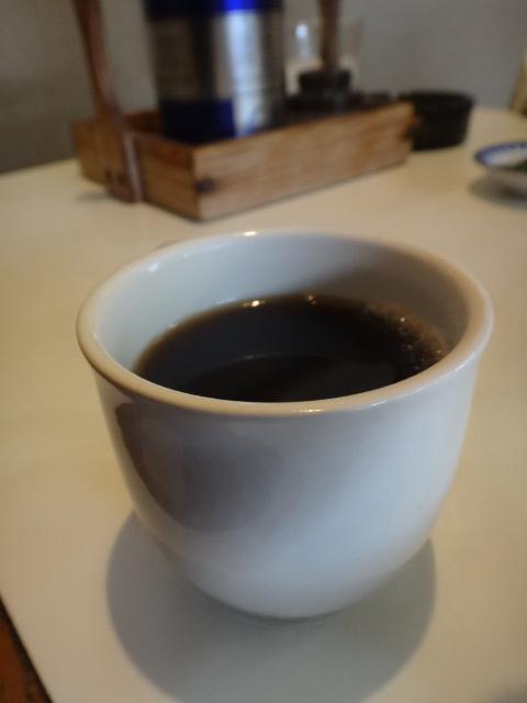コーヒーも付きます