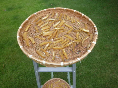 干し芋作り(3)
