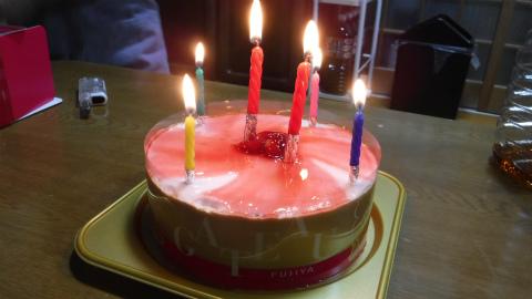 娘誕生日ケーキ